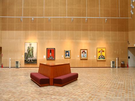 ベルナール・ビュフェ美術館(クレマチスの丘)