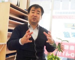名学館富士中島校  塾長 高杉義光さん